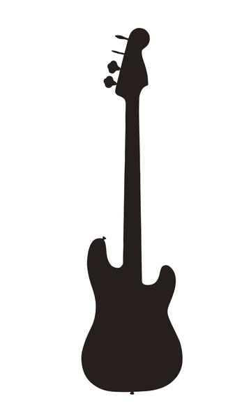 File Guitar Silhouette Png Molde De Guitarra Rock Para Ninos Rock Cumpleanos