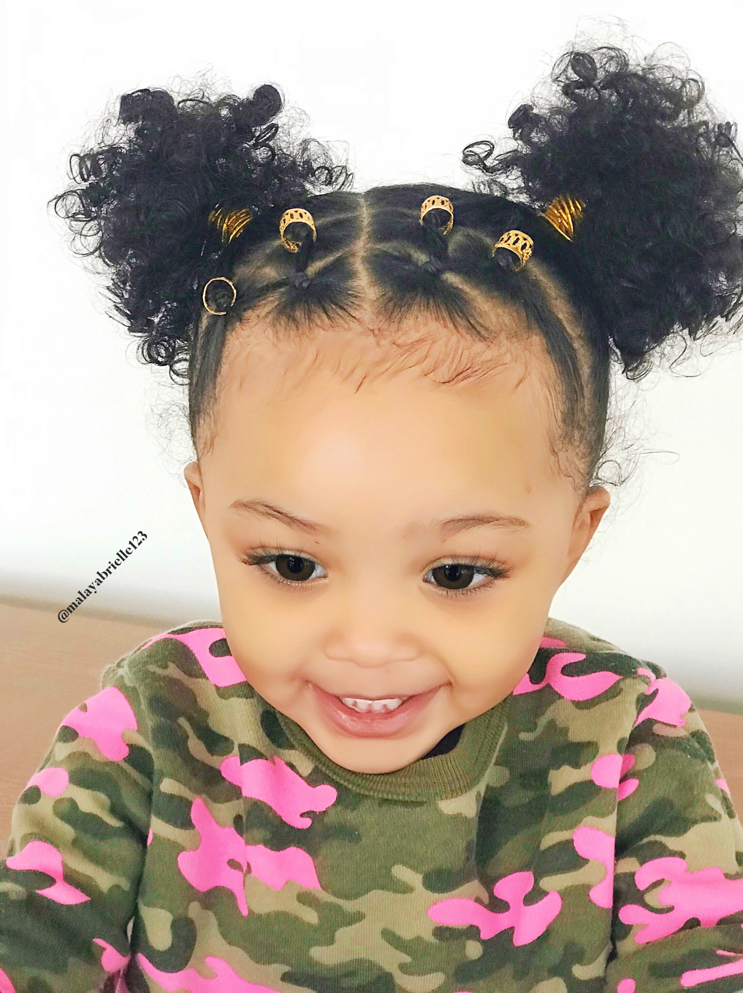 Hairstyle ideas   Baby girl hair, Toddler hairstyles girl, Baby ...