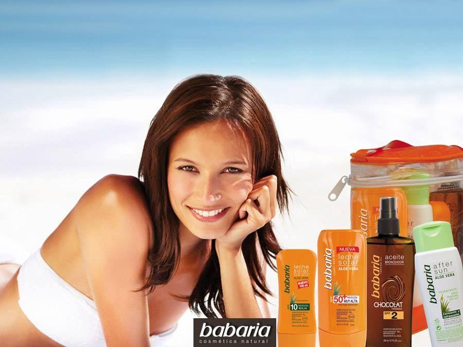 Babaria Cosmetica naturale Pelle protetta tutto l'anno. #mimesisnatura #cosmeticanaturale #babaria