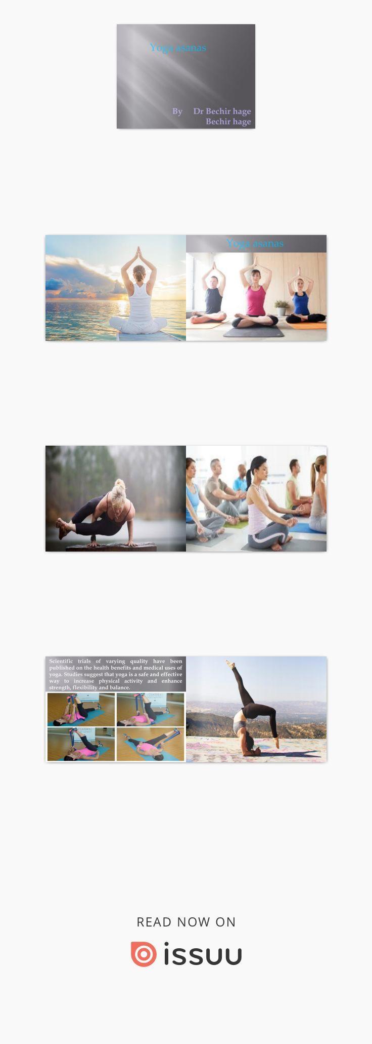 Yoga asanas by Dr Bechir hage and Bechir hage Physical