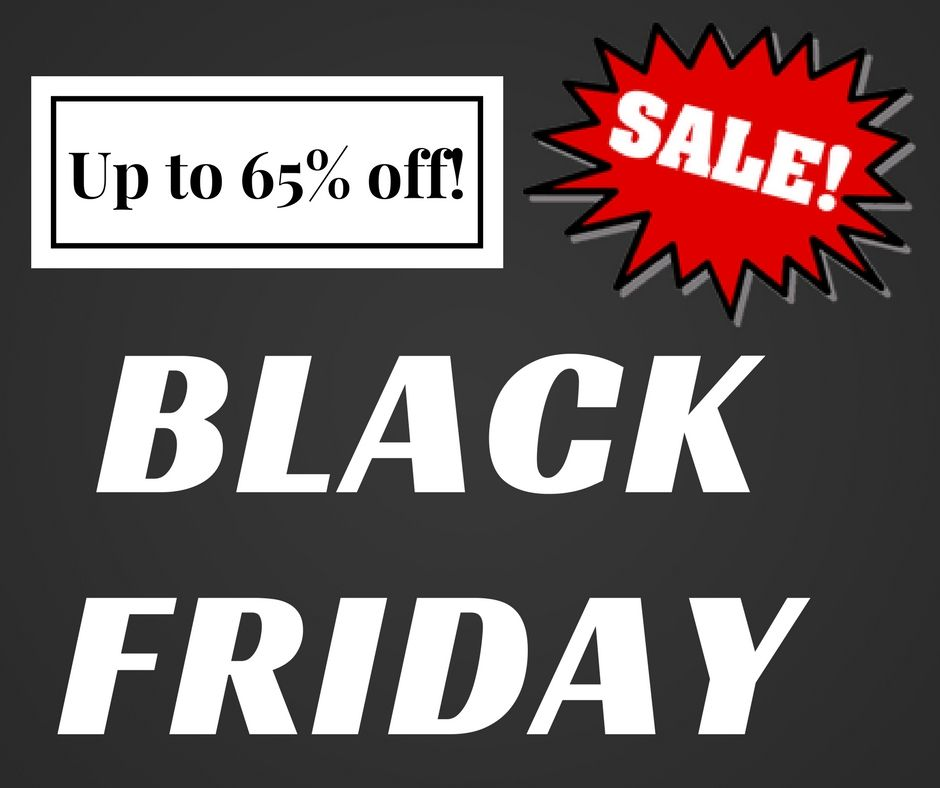 Save up to 65% with our #BlackFriday deals! Check out all ...