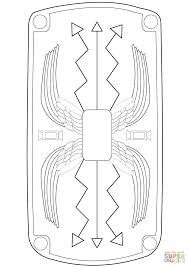 Image Result For Roman Shield Template Printable Roman Shield