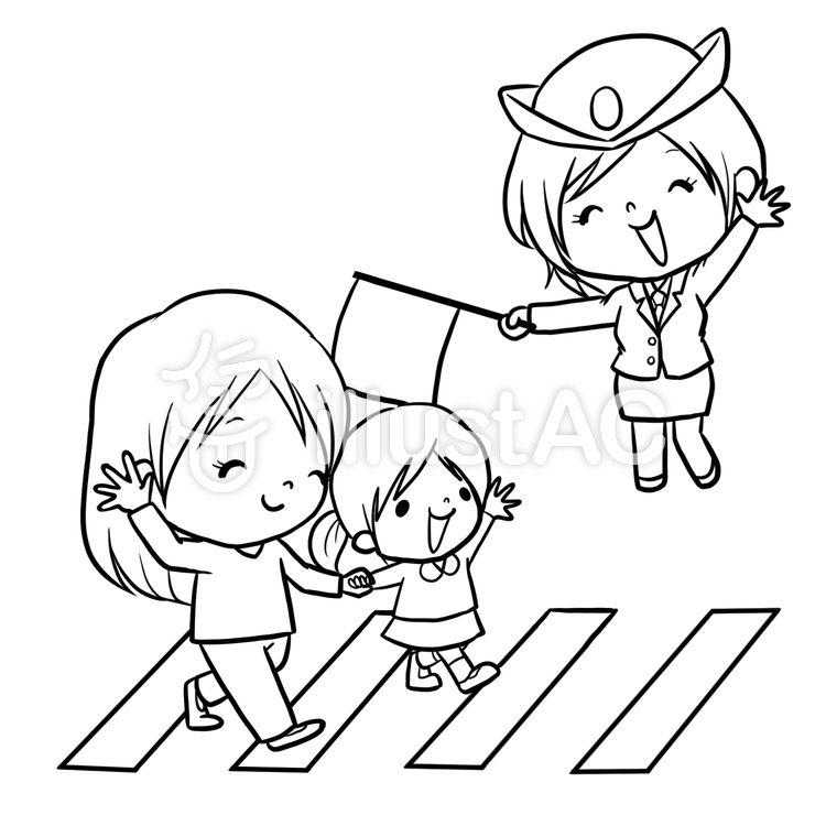 ความปลอดภ ยในการจราจรตำรวจ Crosswalk แนะนำวาดเส นระบายส โทโทโร ตำรวจ ฟร