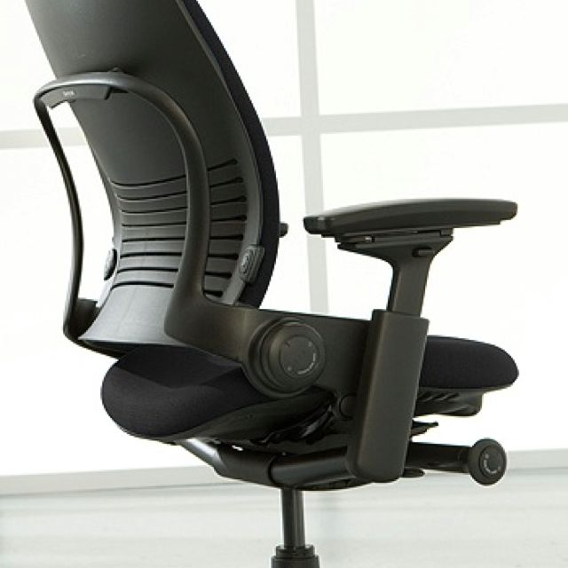 Miraculous Steelcase Leap This Ergonomic Office Chair Gets Me Through Bralicious Painted Fabric Chair Ideas Braliciousco