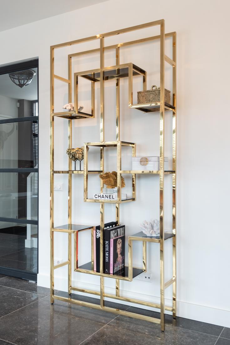 Wandkast Magnus Goud Richmond Interiors Living Room Designs Living Room Decor Apartment Gold Living Room