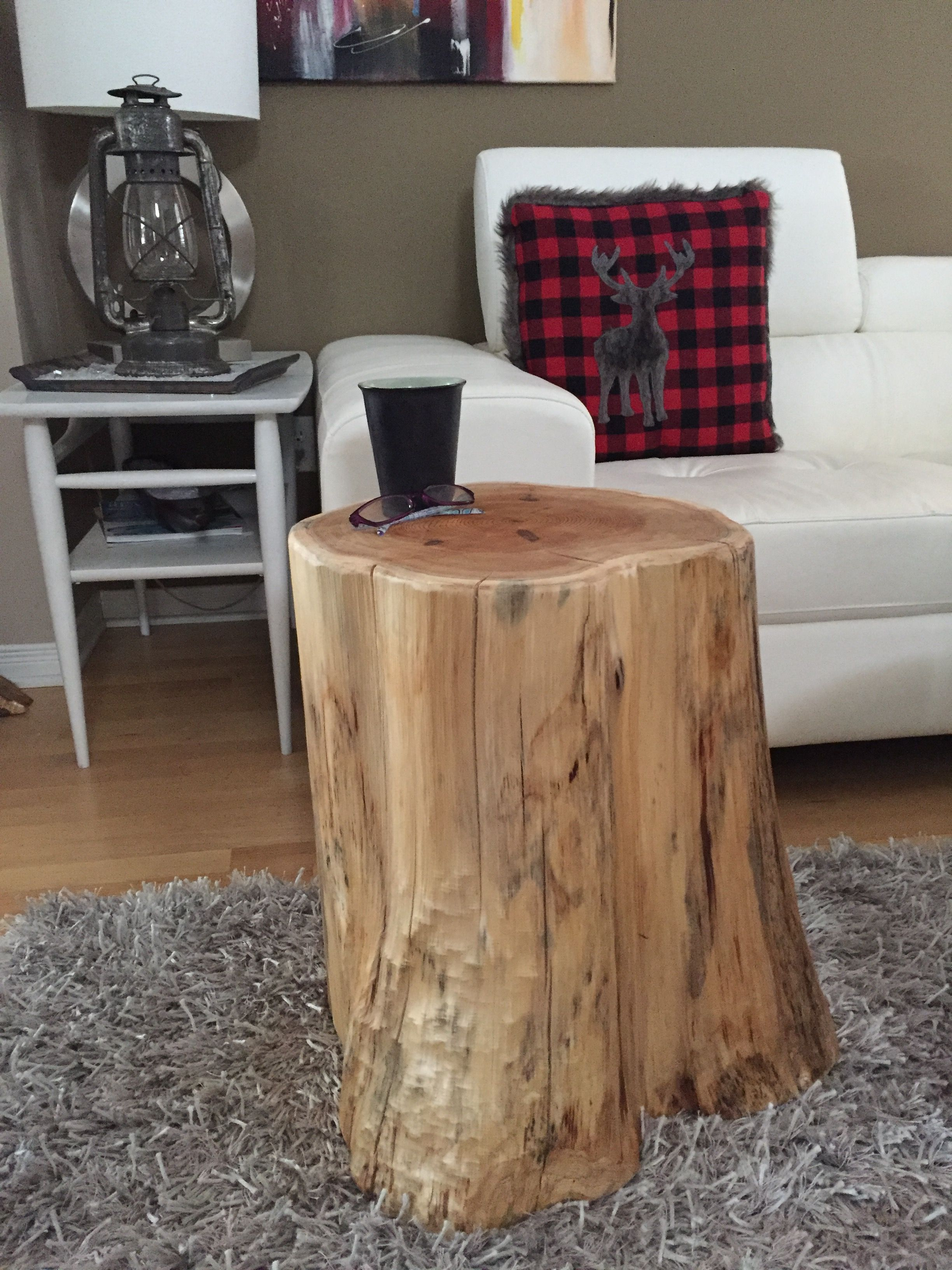 Stump Side Table Log Tables Rustic Tables Tree Trunk Table