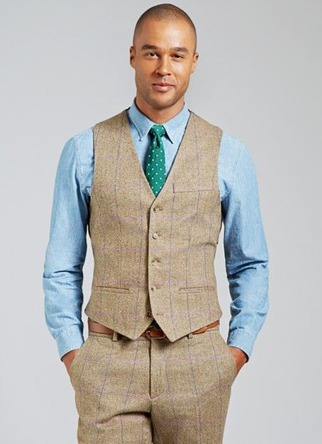 The Galloway | Bonobos Brown & Purple Plaid Robert Noble Tweed 3 ...