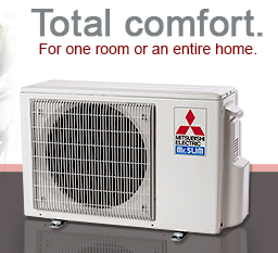 Mitsubishi Ductless Heat Pump Air Conditioner Www Air Ease Com