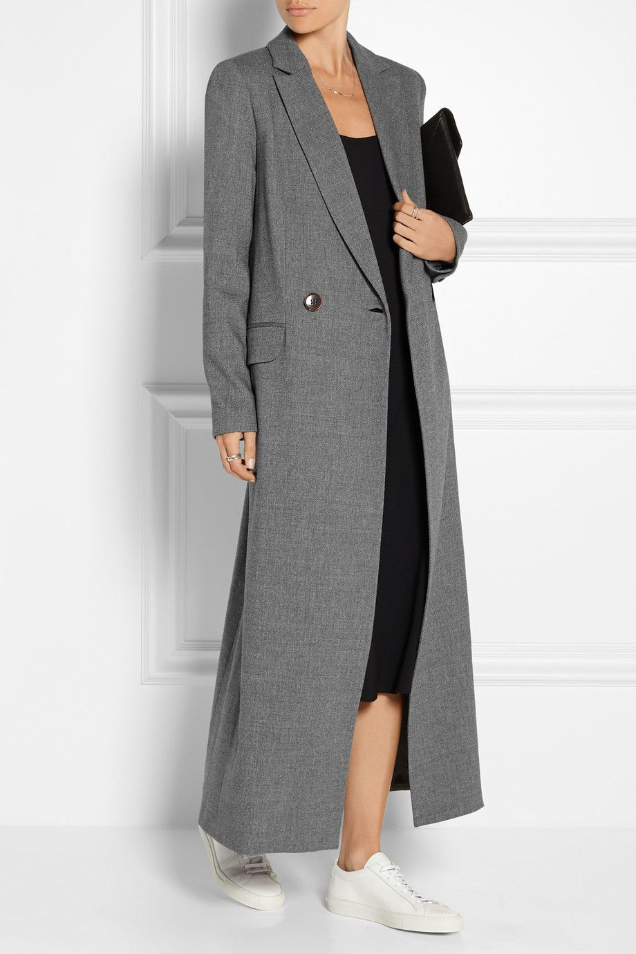 Protagonist | Double-breasted stretch-wool coat | NET-A-PORTER.COM