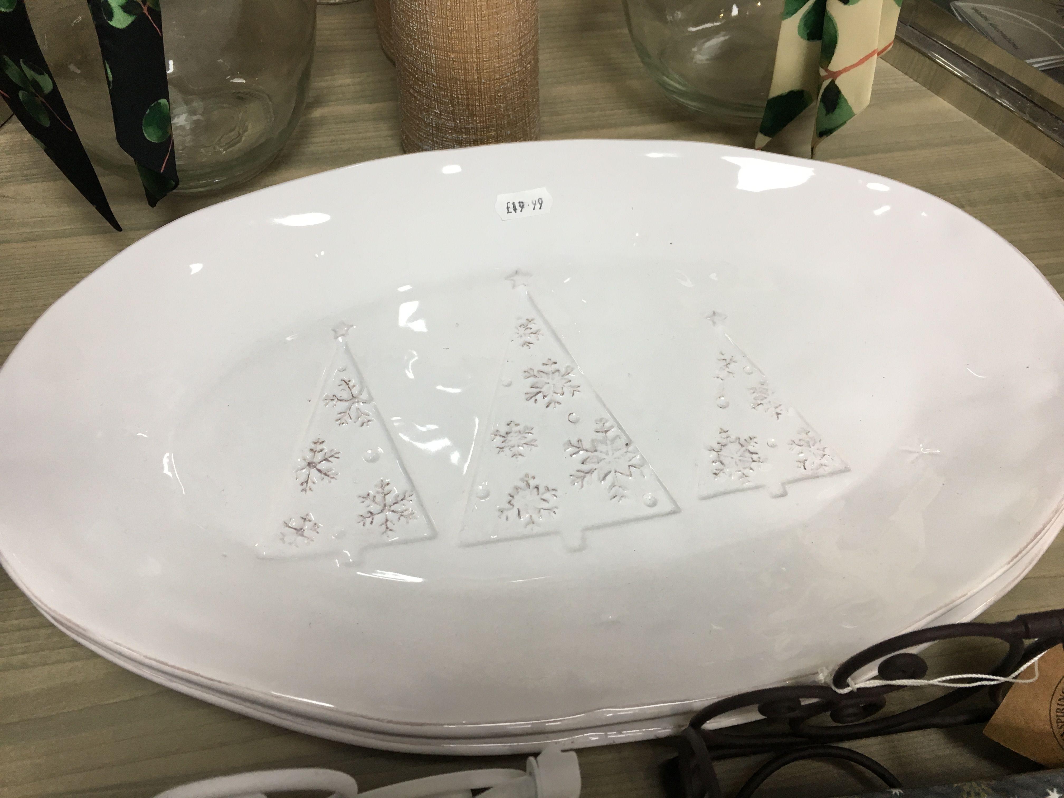 Chritsmas serving plate 1999 serving plates serving