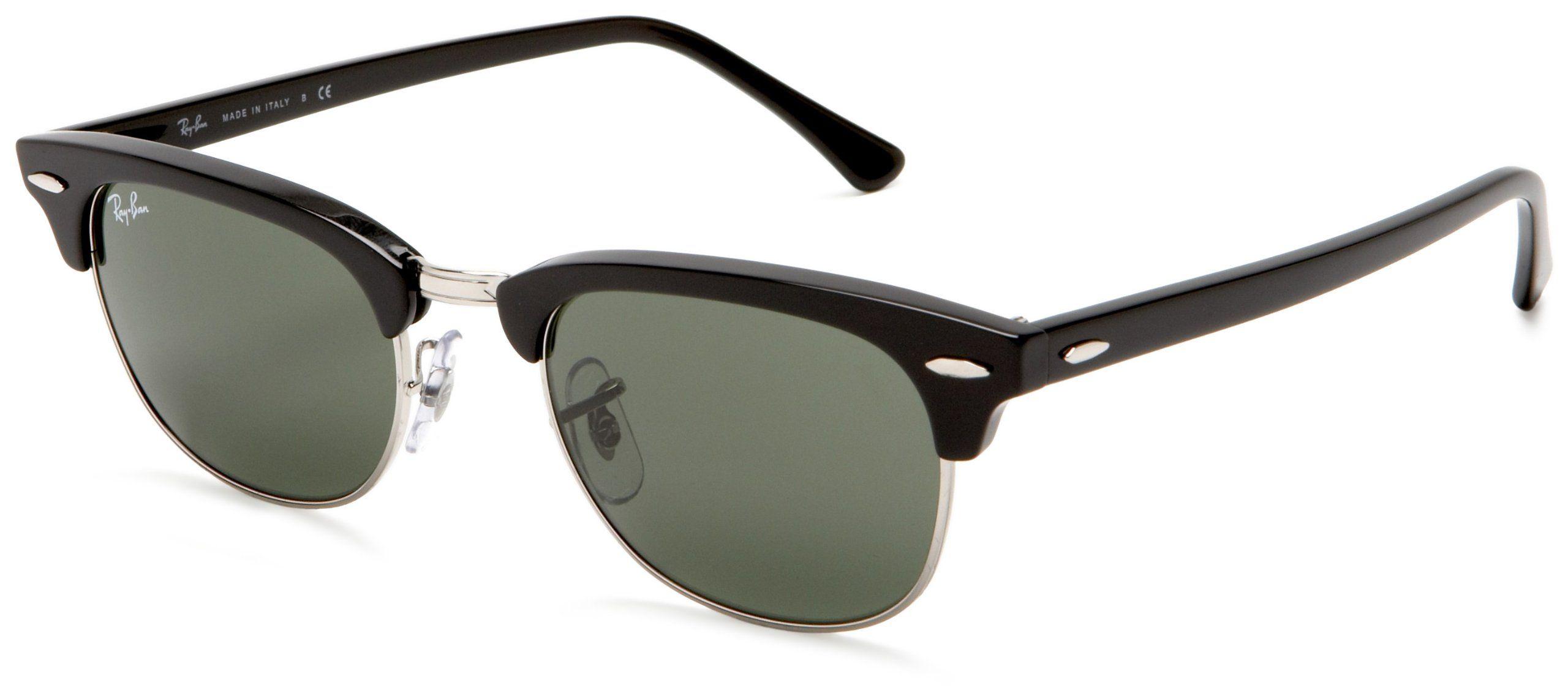 8174b379419 Ray-Ban New Clubmaster Sunglasses -  125