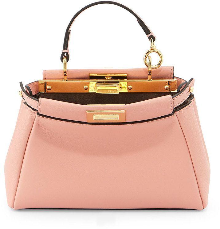 Fendi Peekaboo Micro Satchel Bag 50e691986