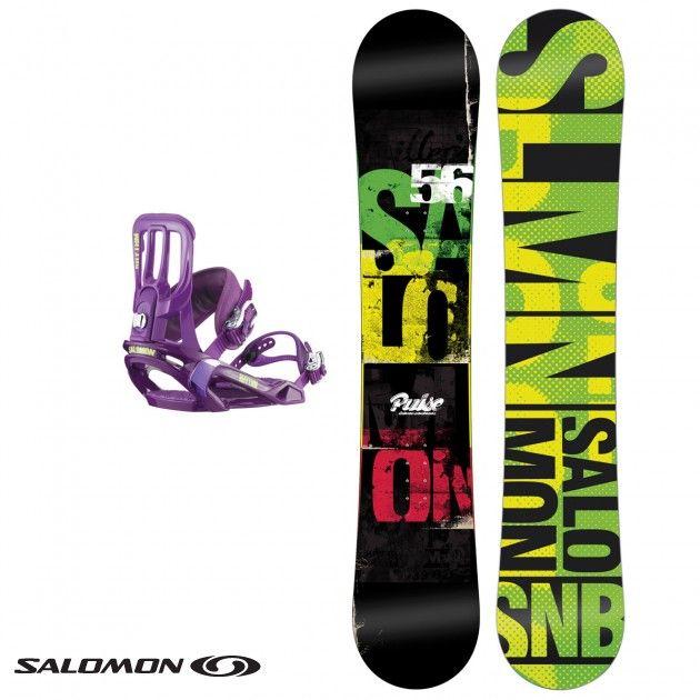 SALOMON Rhythm Snowboard Bindings Mens
