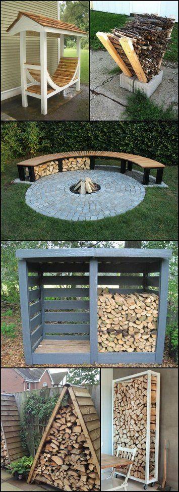 Firewood Storage Ideas