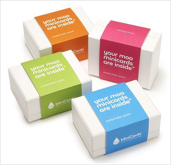 9+ Business Card Box Templates \ Design Files Free \ Premium - business case templates free