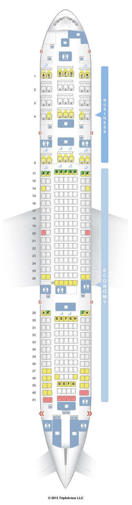 Singapore Airlines A380 Seating Plan Seatguru