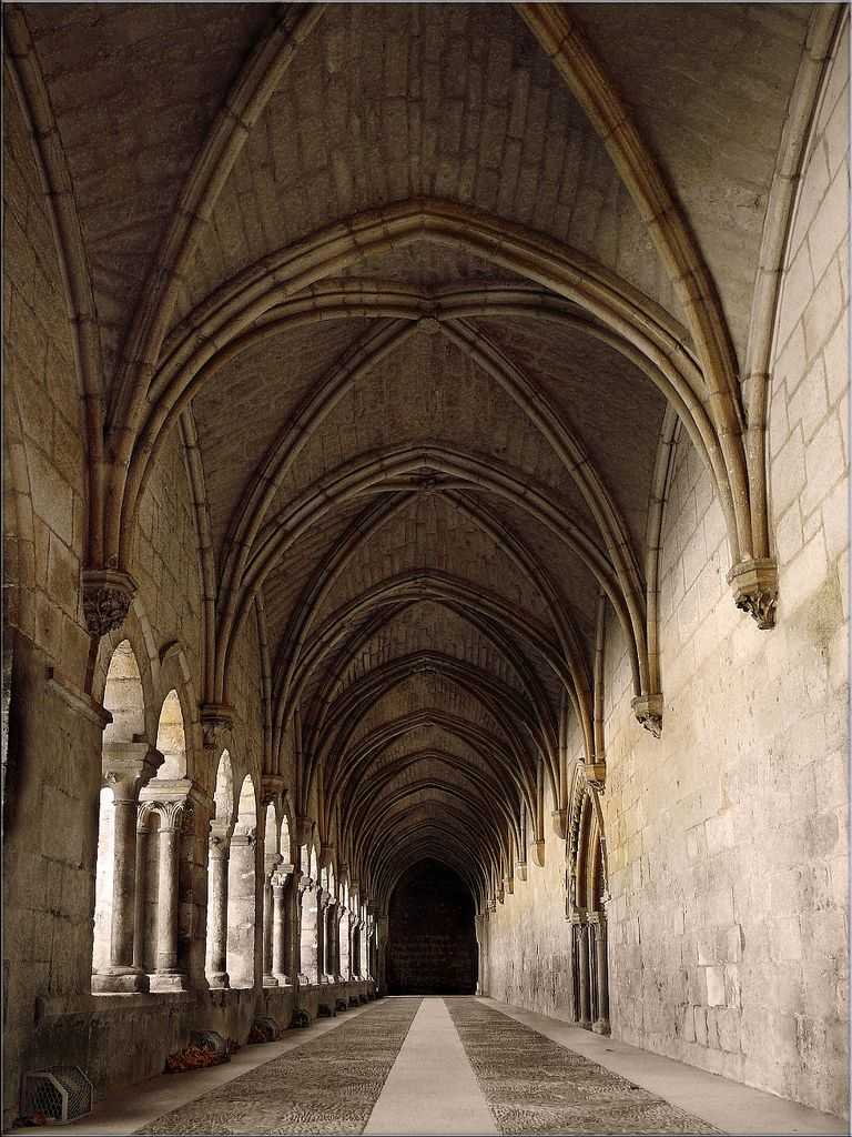 Gothic Architecture Ribbed Vault