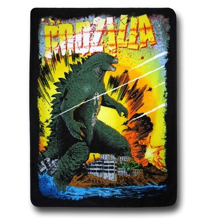 At 46'' by 60'' the King of Monsters is operating at a slightly reduced size than he is use to on the Godzilla Boom Throw Blanket! Godzilla is known for his penchant for destruction, carnage, combat versus things of comparable size, and his unchecked love for vanilla ice cream cones with rainbow sprinklings but now he'll keep you warm as you cloak yourself in his image! He's a creature of many hats, you know? Made from 100% polyester, this insanely soft Godzilla Boom Throw Blanket is what…