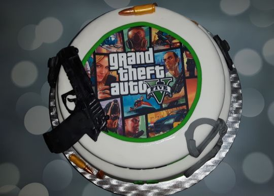 Gta 5 Cake Gta Gta 5 Cake