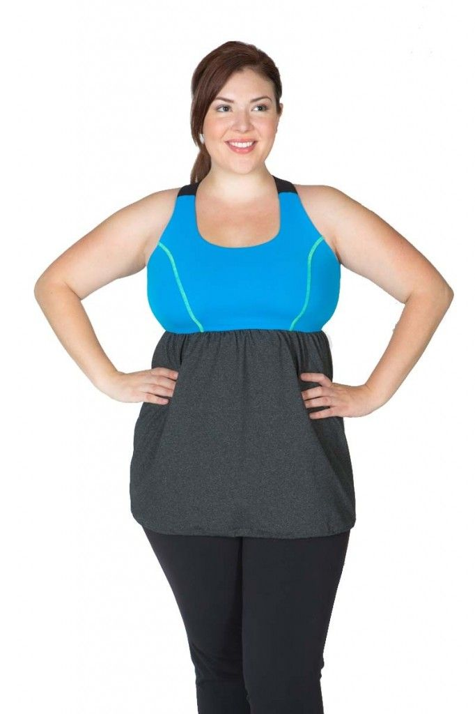 plus size workout gear. i'm not sure why so many plus sized