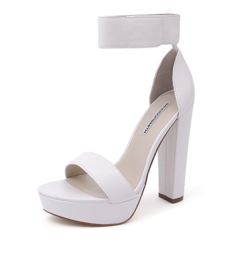 windsor smith malibu heels black | beginning boutique shop new