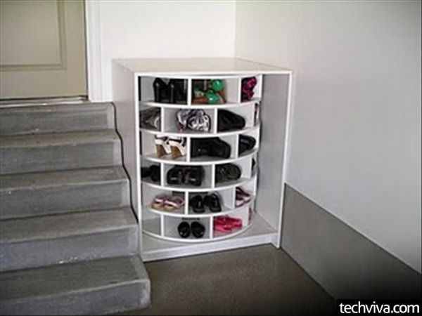 Great 15 Creative Shoes Storage Ideas