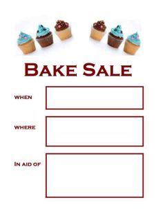 Bake Sale Poster Template Bake Sale Ideas Bake Sale Poster Bake