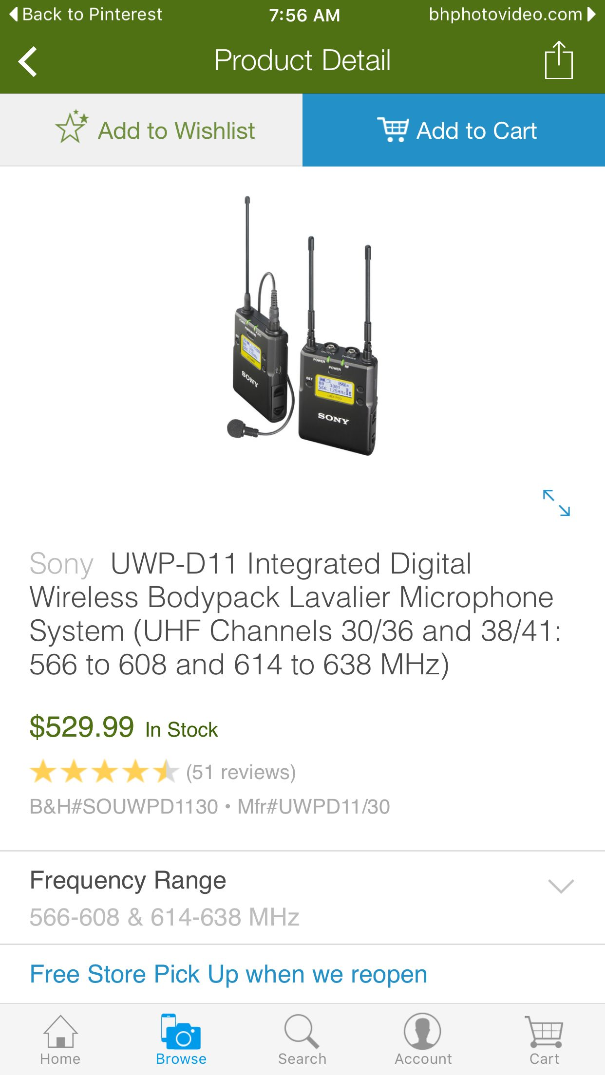 Sony UWP-D Wireless System  Best choice for wireless in the