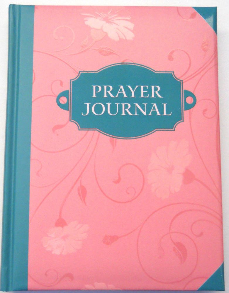 "Prayer Journal hard bound lined pages uplifting quotes 8 x 6"" #Daymaker"