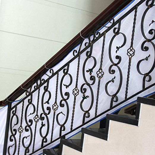 Safe Deck Railings Stairs: TinyGuards Stairs Protect Safety Net For Indoor And