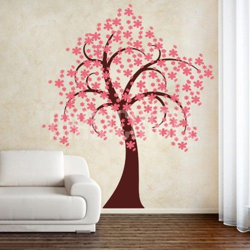 Pretty Blossom Tree - Wall Decals Stickers & Pretty Blossom Tree - Wall Decals Stickers | Izzy | Pinterest ...
