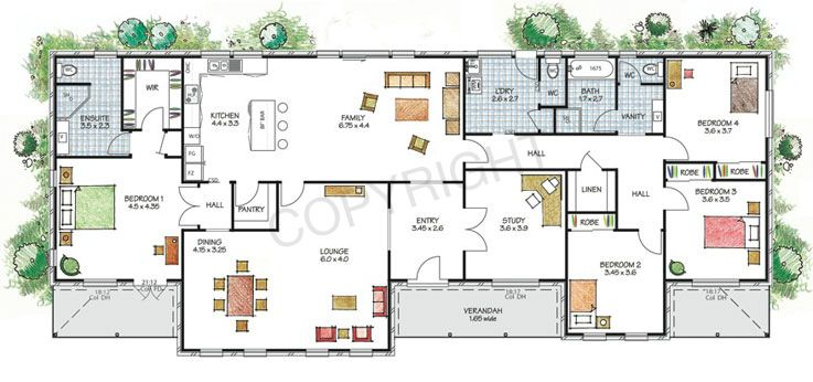 large family house plans australia - Large House Plans