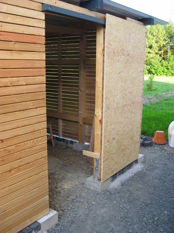 Hausprojekt Carport / Schuppen Teil 5 Anbau