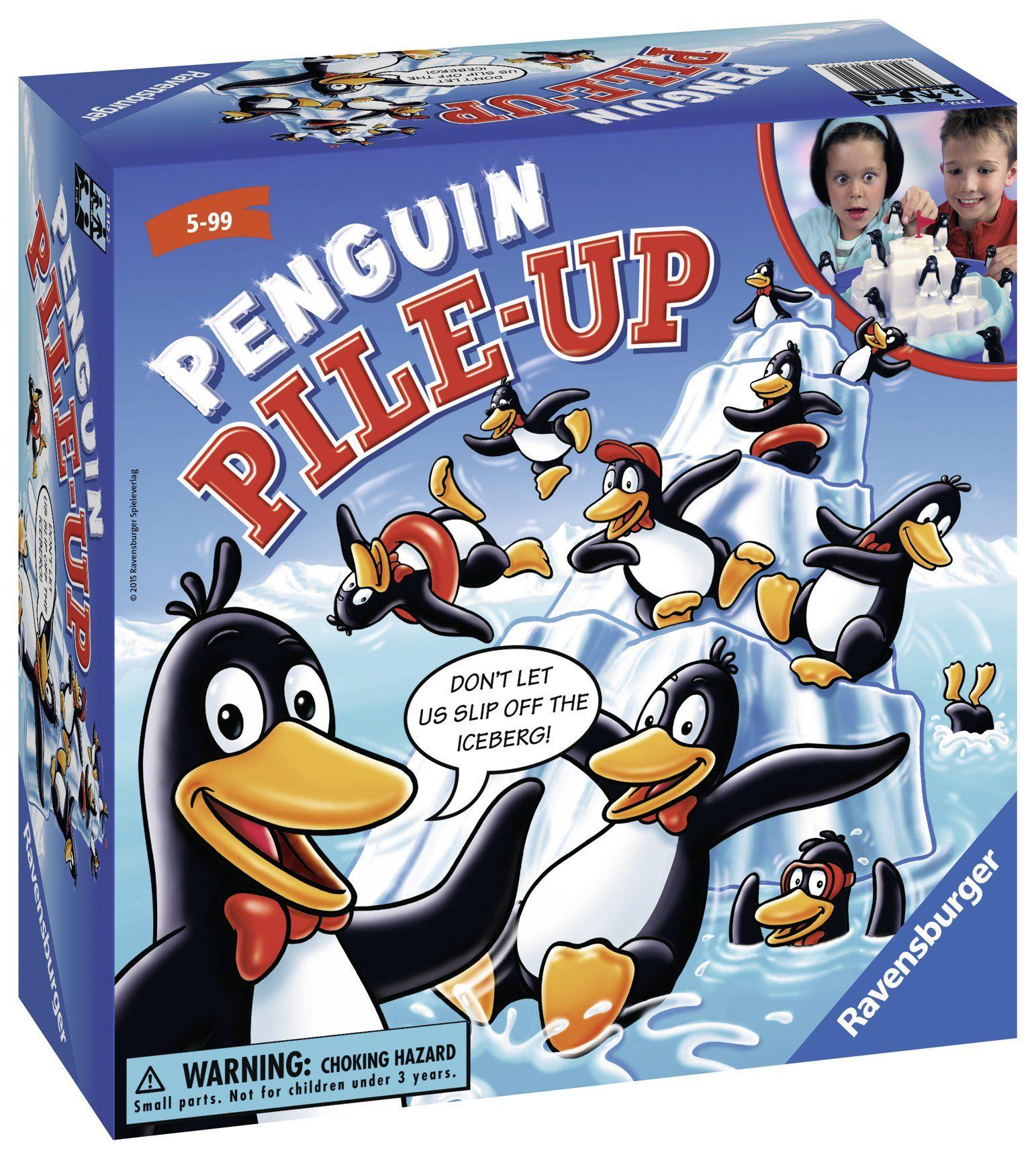 Ravensburger Penguin Pile Up Childrens Game >>> Want