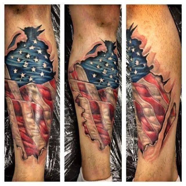 Pin On Tattoo Americana And Patriotic