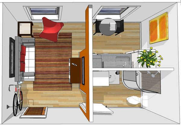 200 Sq Foot Apartments In The Modern Rich Will Range From To 400 Square Feet