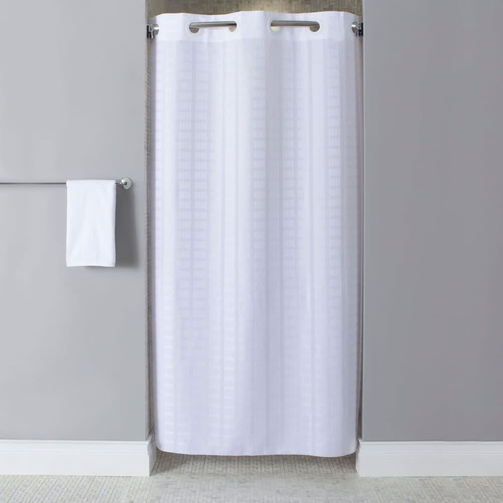Hookless Shower Stall Curtain Liner | Shower Curtain | Pinterest ...