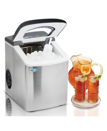 Mr Freeze Stainless Steel Portable Ice Maker Stainless Steel Steel Ice