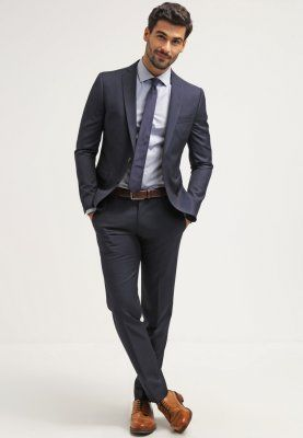 big sale 336c0 b8905 Extra Slim Fit Anzug - blue (€ 199,95) | Esprit | wedding <3 ...