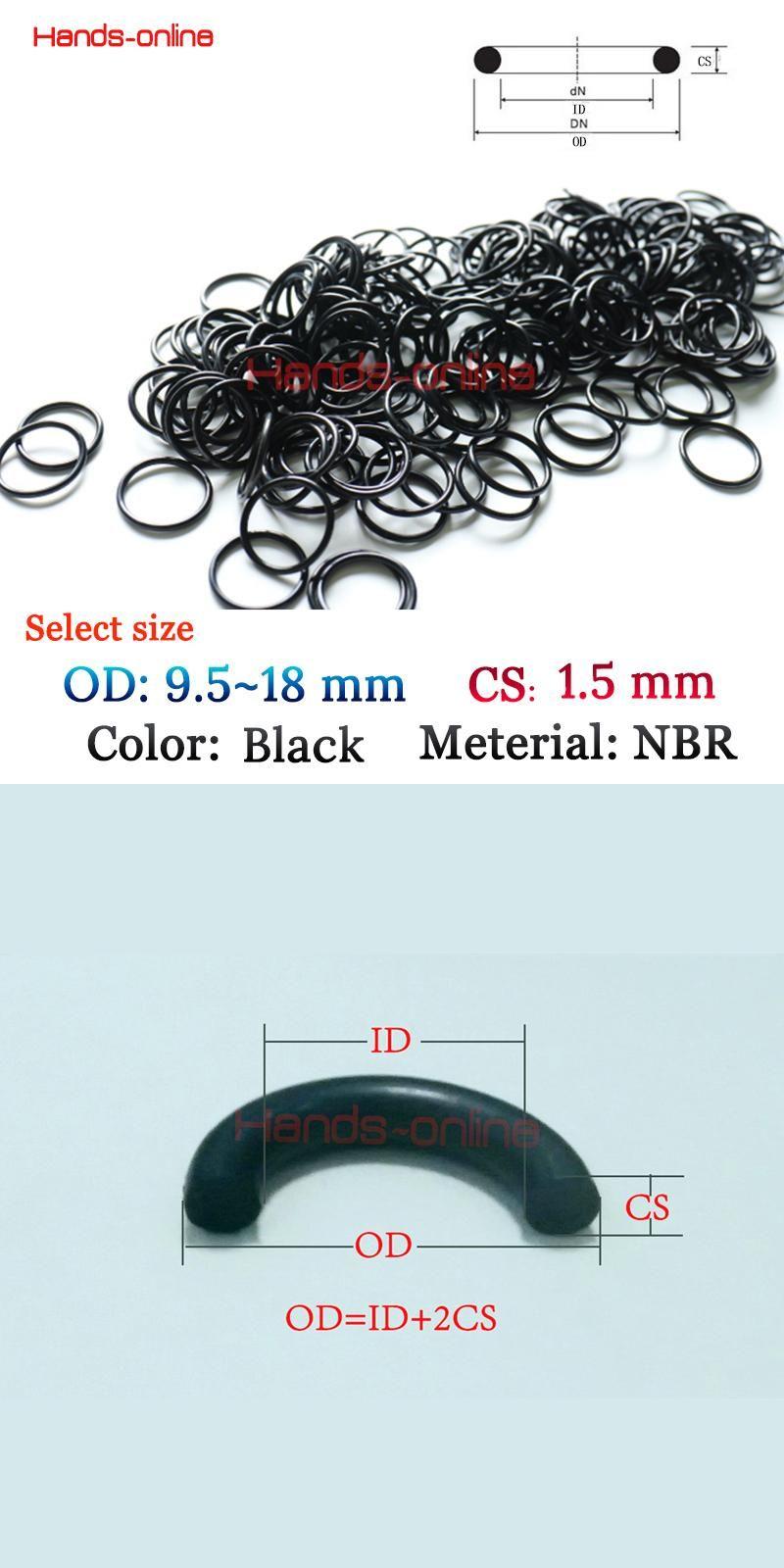 Visit to Buy] 10x NBR Orings OD 9.5/10/10.5/11/11.5/12/12.5/13/13.5 ...