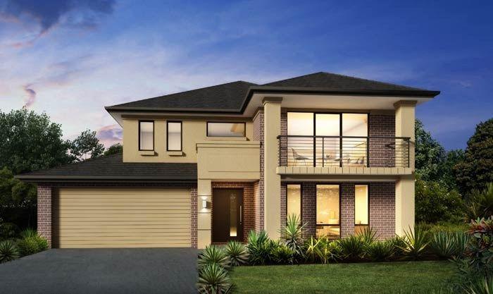 Masterton home designs santorini contemporary lhs for Masterton home designs