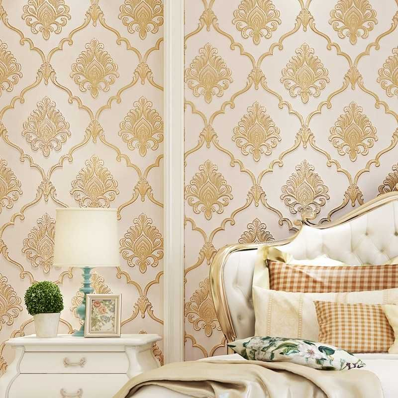 The Benefits Of Hanging Wallpaper Instead Of Painting The Walls Home Bedroom Design How To Hang Wallpaper Wall Coverings