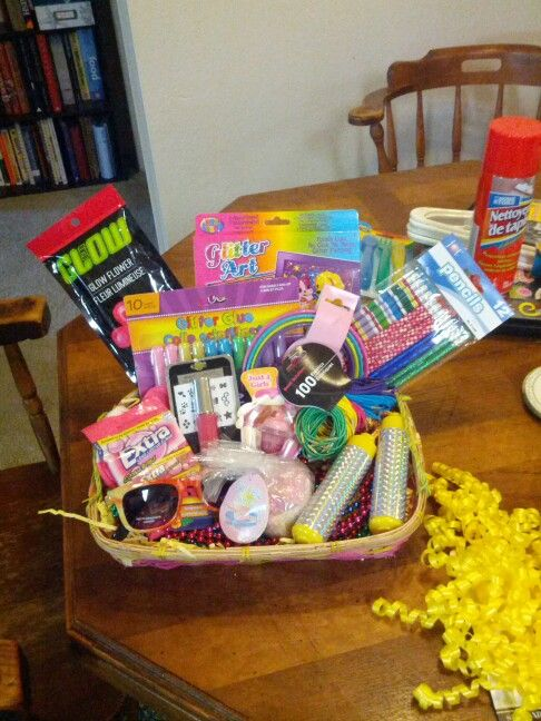 A Present For 10 Year Old Girl From The Dollar Store Everything Including Wrapping And Card 15