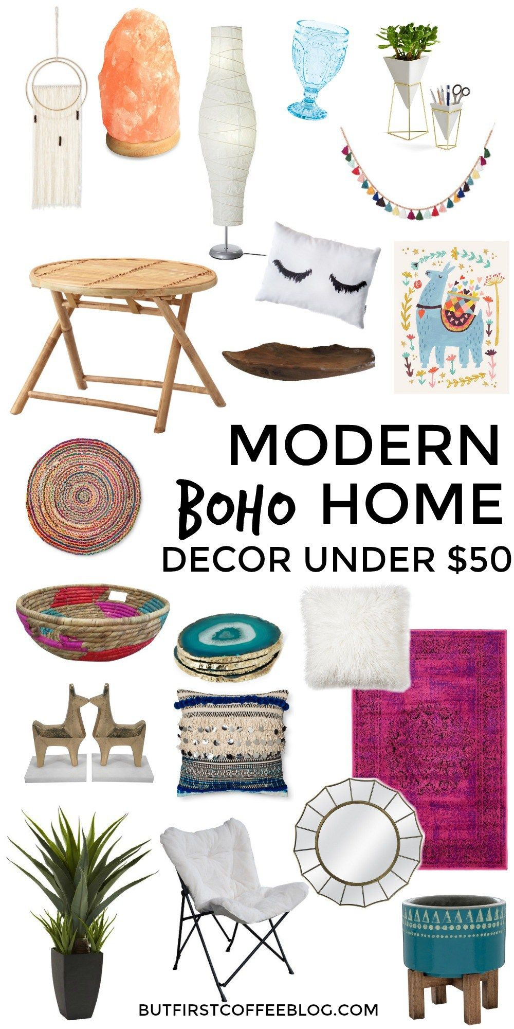 Modern Boho Home Decor That You Can Get for Under $50 | For my ...