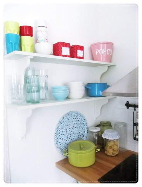 Anrinko: Candy colors in my kitchen