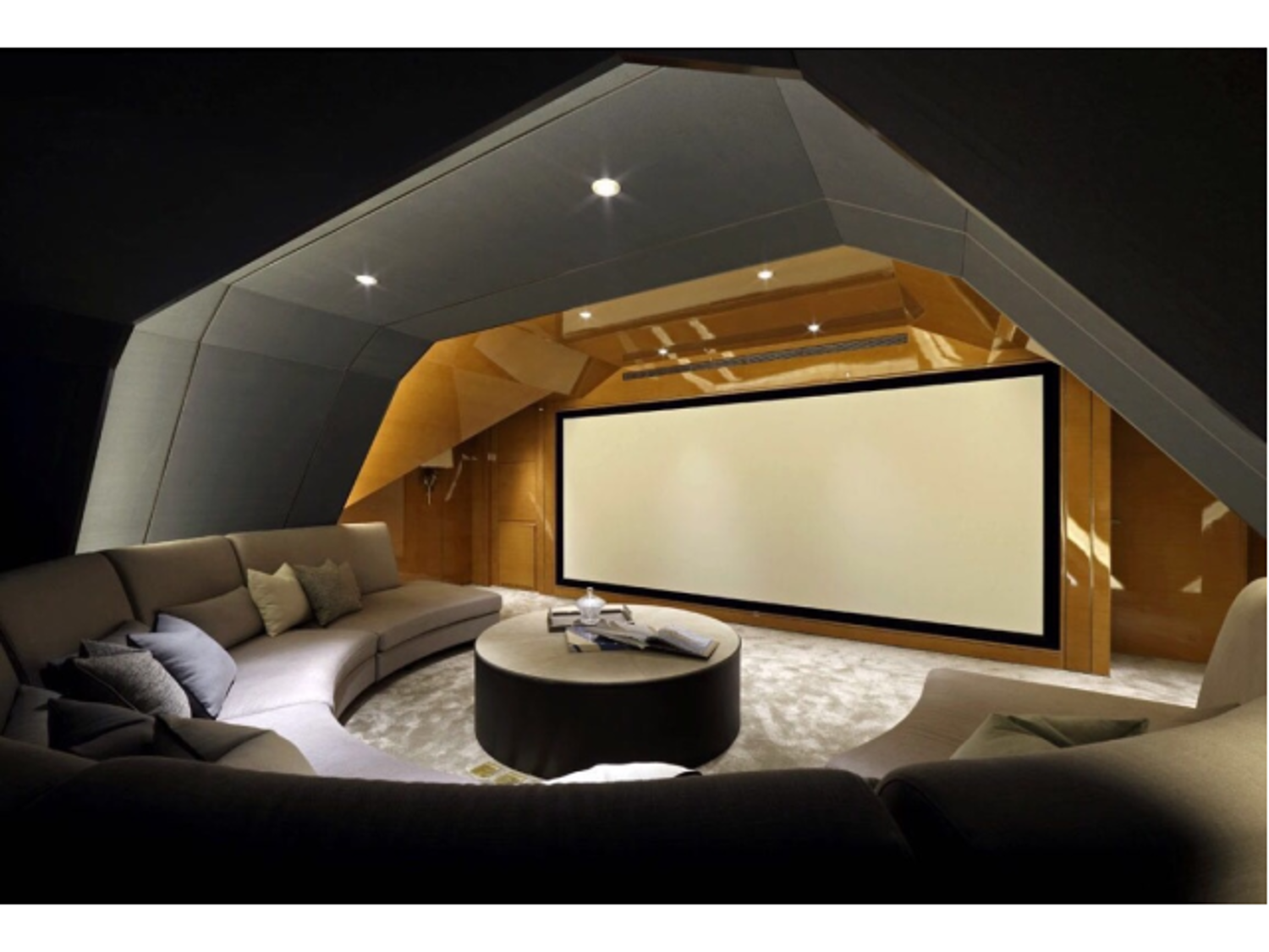 Attic Theater 1 Home Theater Seating Home Theater Decor Home