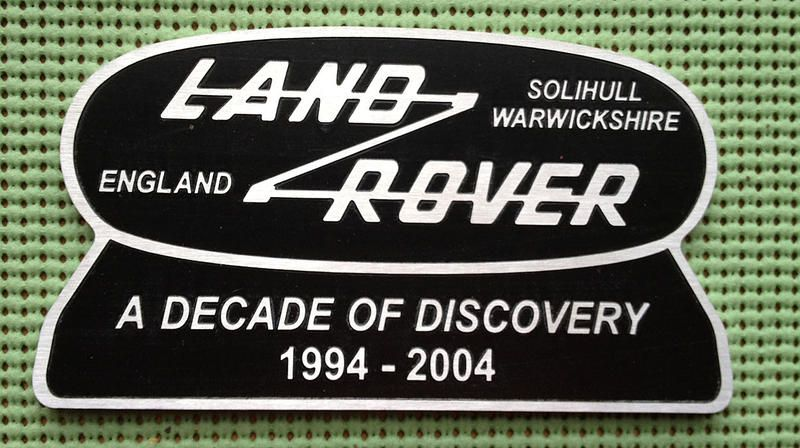 A Decade of Discovery.  Land Rover Discovery 1994-2004