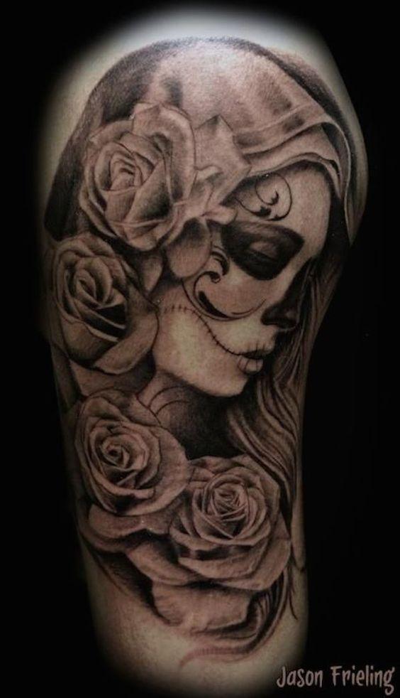 Jour Des Morts Tatouages Idees De Tatouage