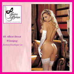 Lingerie available at Fantasy Boutique, 88 Albert Street, Winnipeg fantasyboutique.ca
