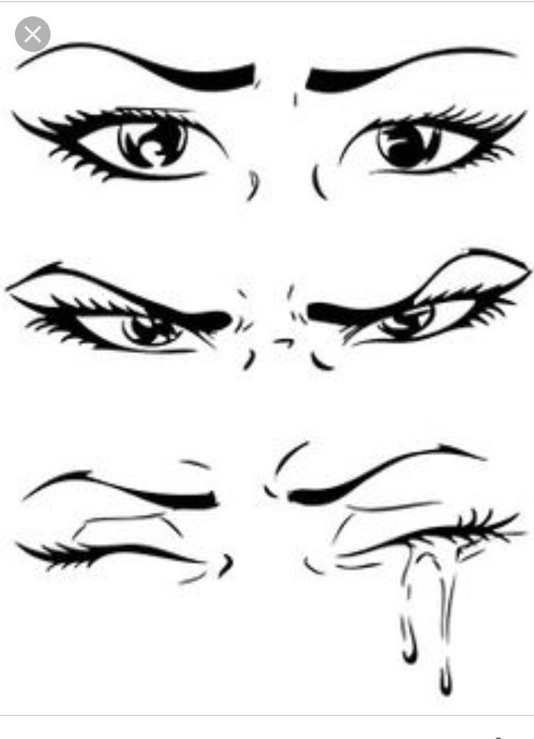 Pin By Saniya On Tattoo Crying Eye Drawing Crying Eyes Eye Drawing